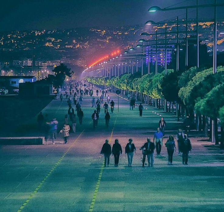 Salonika by night...