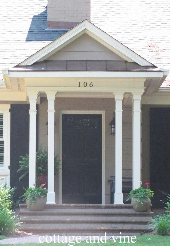Portico & 60 best PORTICO images on Pinterest | Entryway Country homes and ...