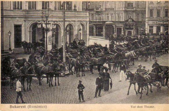 Old postcards - Bucharest