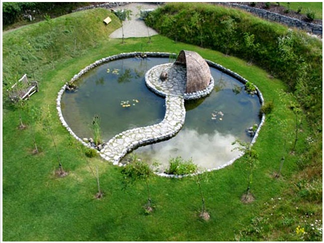 97 best images about now and zen places on pinterest for Garden duck pond design
