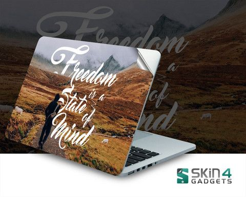 Skin4Gadgets Freedom is a State of Mind Laptop Skin For 15 and 15.6 inch Laptop