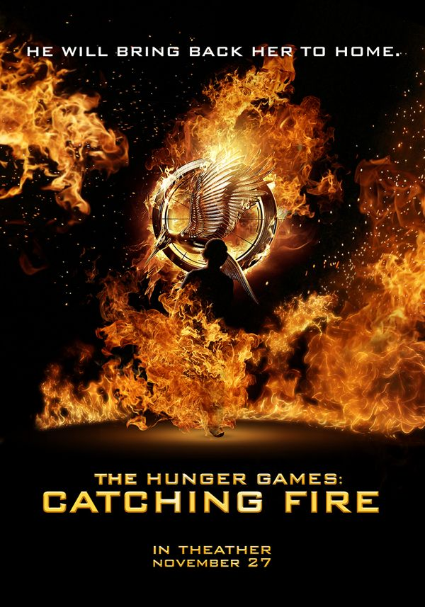The Hunger Games: Catching Fire Tribute | Film Poster | by Eugenio De Riso, via Behance