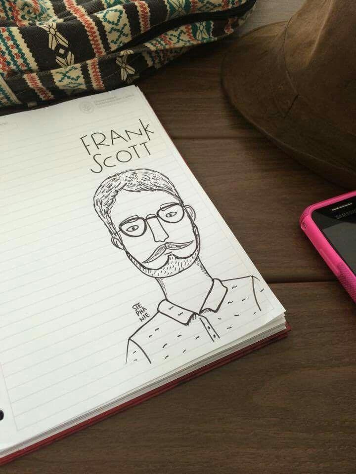 Frank scott #sketch #steillustration #animation #draw #man #beard