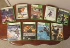 XBOX 360 LOT of 9  Ace Combat 6; Battlefield 2; Blue Dragon; Brink; Star Ocean