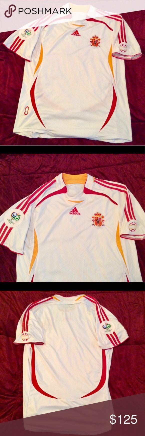 Mint Condition Spanish World Cup Jersey 2006 World Cup Jerseys Adidas Shirt Sweatshirt Shirt