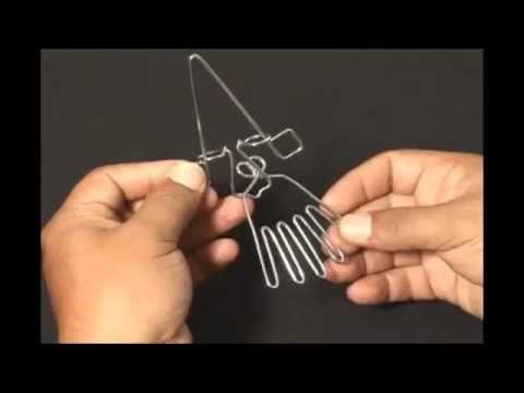 Trucos con alambres y clavos 5.mp4 - YouTube