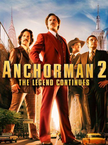 Anchorman 2: The Legend Continues - Will Ferrell | shopswell