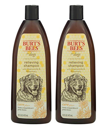 Loving this Chamomile & Rosemary Relieving Shampoo for Dogs - Set of Two on #zulily! #zulilyfinds