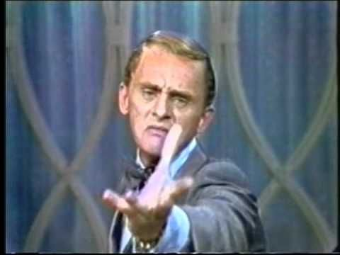 Frank Gorshin on the Dean Martin Show: While he will undoubtedly be remembered for his Emmy nominated role as the Riddler in the 1960s camp classic Batman, Frank Gorshin was an incredible impressionist. In this clip, you get to see the best of both of his worlds. First he shows us what Batman would be like if they had a different 'guest' Batman and Robin each week instead of a guest villain.