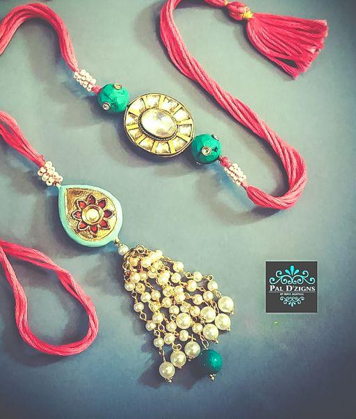 Pearl Kundan Lumba | Pal Dzigns | Rakhi Jewelry | Ultimate Rakhi Guide | ( http://purplevelvetproject.com/guide-rakhi-jewelry/ ) | Unique Rakhi Ideas | Rakhi Design | DIY Rakhis | Rakhi Lumba | Raksha Bandhan | Thali | Indian Festival | Modern Rakhis | Traditional Rakhis | Brother | Sister | Sister In Law | Bhabhi | Personalised Rakhis |Rakshabandhan | Fancy Rakhis | Designer Rakhis | Beautiful | Awesome | Creative | Fun Rakhis | Quirky Rakhis | @purplevelvetpro