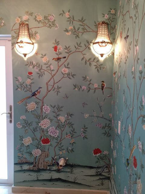 A More Affordable Alternative to deGournay and Gracie Wallpaper