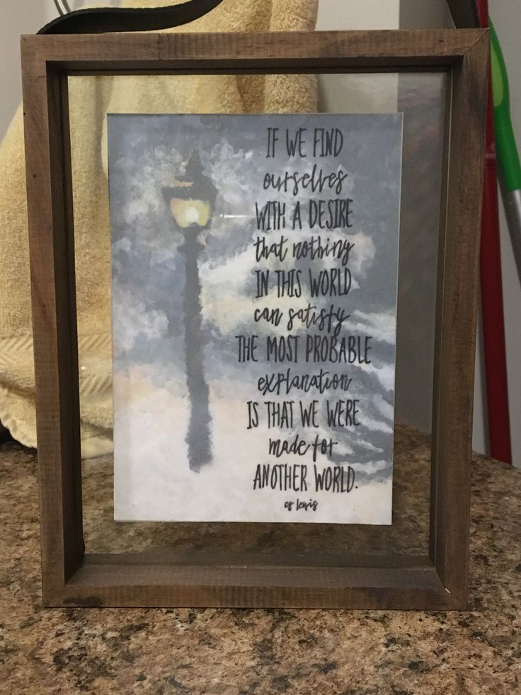 CS Lewis Quote and Painting Cs lewis quotes, Painting