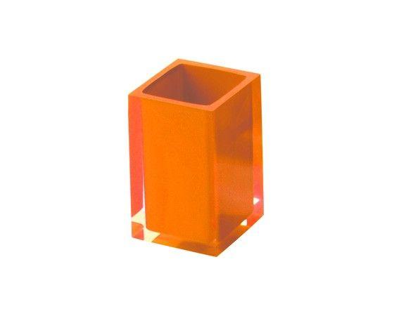 Portaspazzolini Arancio Rainbow