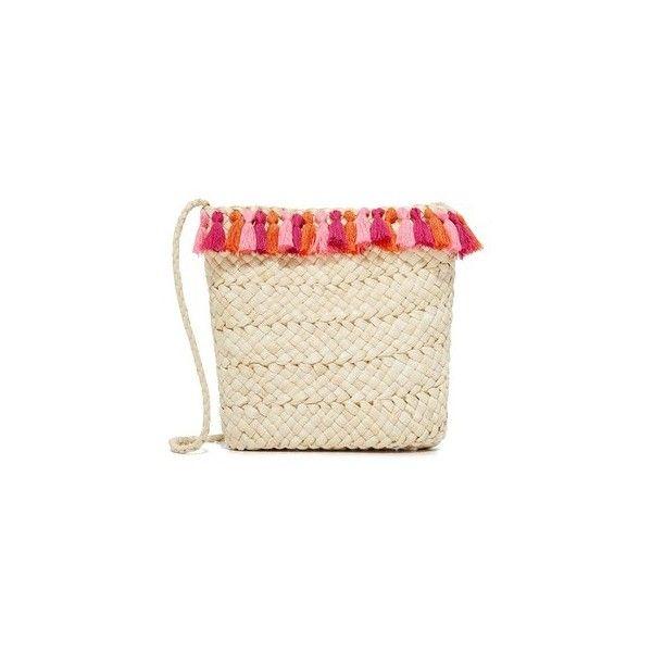 Hat Attack Festival Cross Body Bag (120 CAD) via Polyvore featuring bags, handbags, shoulder bags, pink, brown cross body purse, pink purse, brown crossbody, crossbody purses and pink shoulder bag