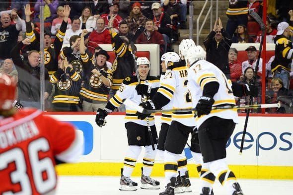 Raleigh, NC – January 28, 2013 – PNC Area: Teammates of the Boston Bruins in motion throughout a daily season recreation (Photograph by Phil Ellsworth / ESPN Photographs)    Delaware North, the dad or mum firm of the Boston Bruins and TD Garden in Boston, introduced on Thursday its...