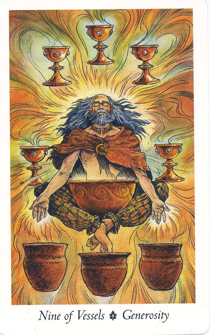 1000+ Images About Tarot: Nine Of Cups On Pinterest