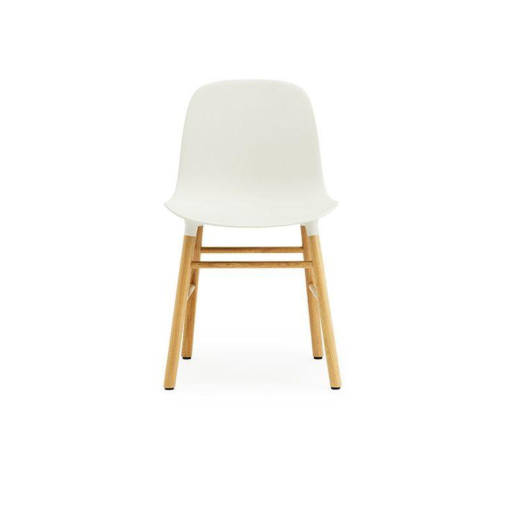 Form Chaise, Blanc/Chêne, Normann Copenhagen