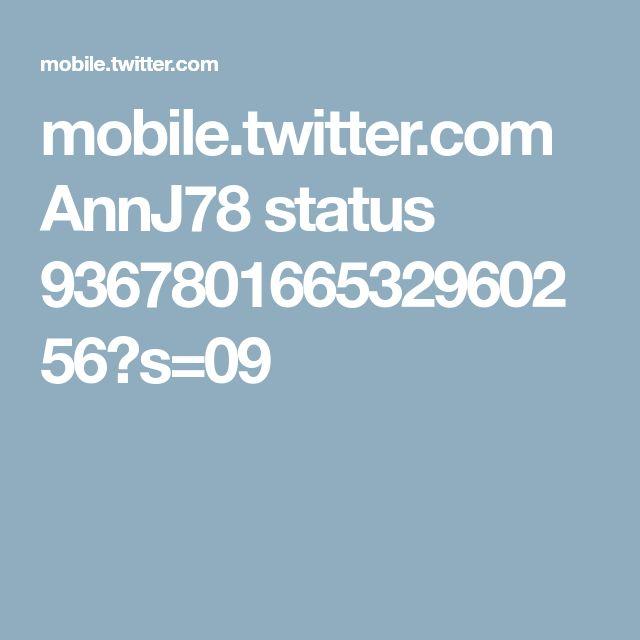 mobile.twitter.com AnnJ78 status 936780166532960256?s=09