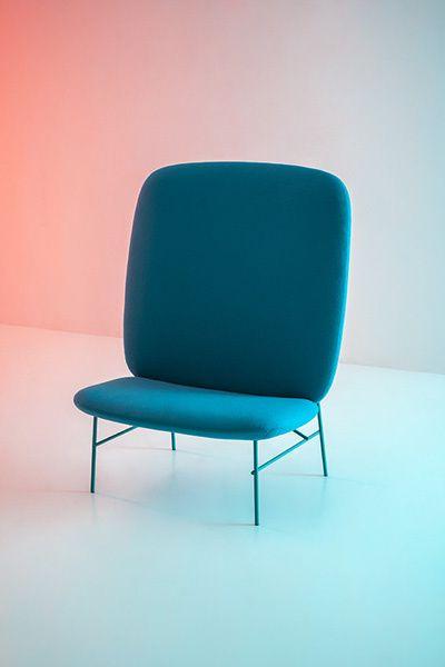Kelly seat Blue by Claesson Koivisto Rune for Tacchini