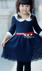 Стильное детское платье
