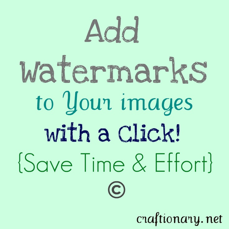 add automatic watermarks to group images and photos