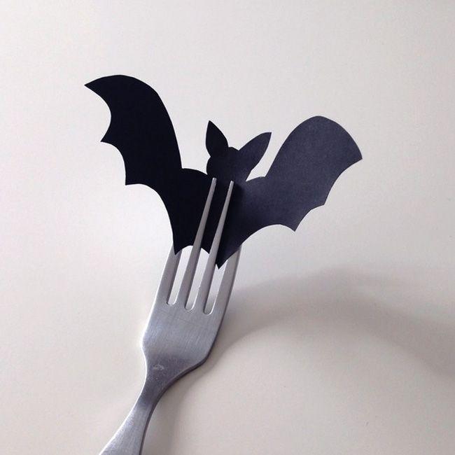 Des Chauve Souris A Imprimer Pour Halloween Table Halloween