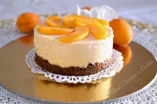 Cheesecake monodose all'albicocca - Mind Cucina e Gusto