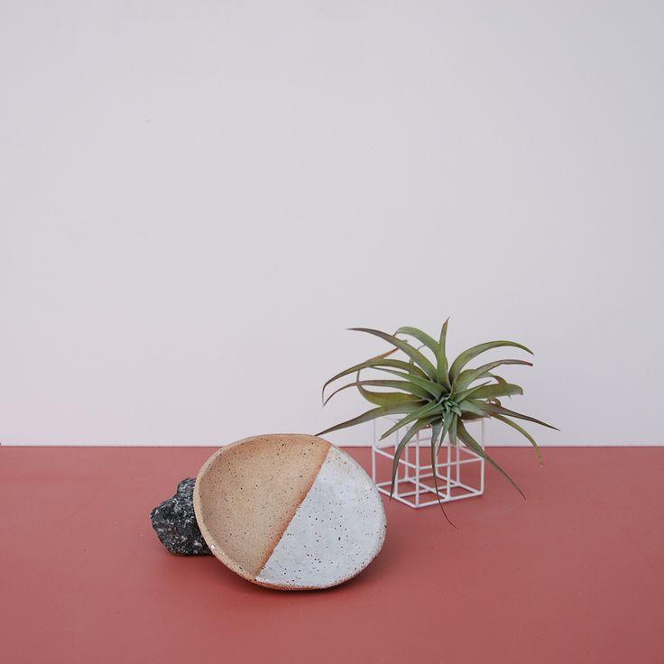 half moon dish | nightshift ceramics