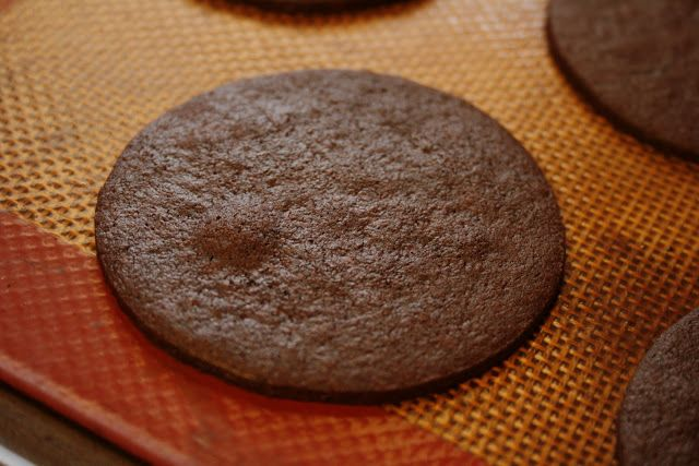 Chocolate Wafer Cookies... Nabisco type. My heart be still!!!! These are my FAVORITE cookies and to think I can make them?! I'd have a never-ending supply! Yippee!