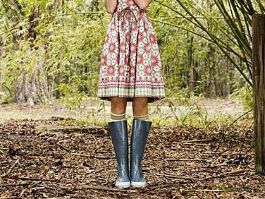 I think you could do chores in this super cute get up!  :)