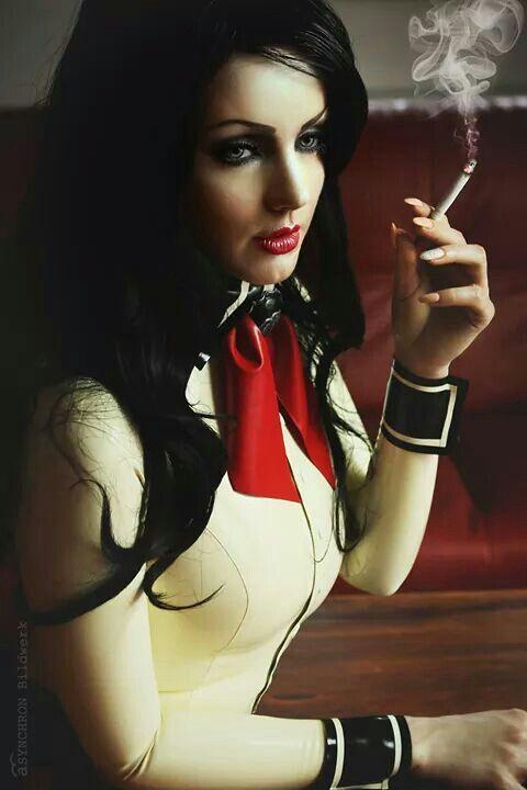 Sexy smoking girl video-8375