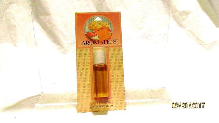 Aromatics Potpourri Oil Vanilla 1/4 fl oz Vintage New #Aromatics