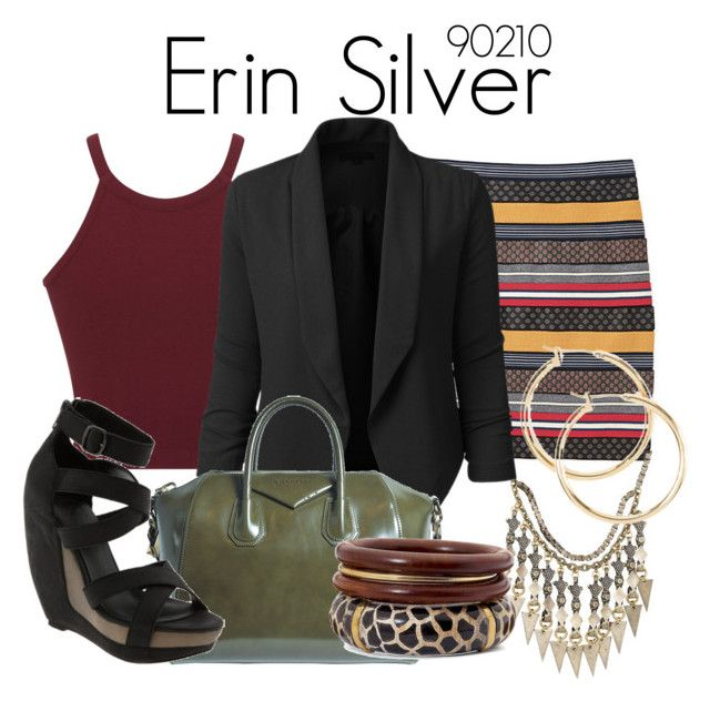 Erin Silver 90210 by sparkle1277 on Polyvore featuring polyvore, fashion, style, Miss Selfridge, LE3NO, Band of Outsiders, Joe's Jeans, Givenchy, Color craze and clothing
