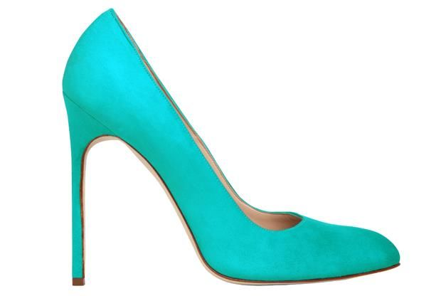 Manolo blahnik цветные туфли
