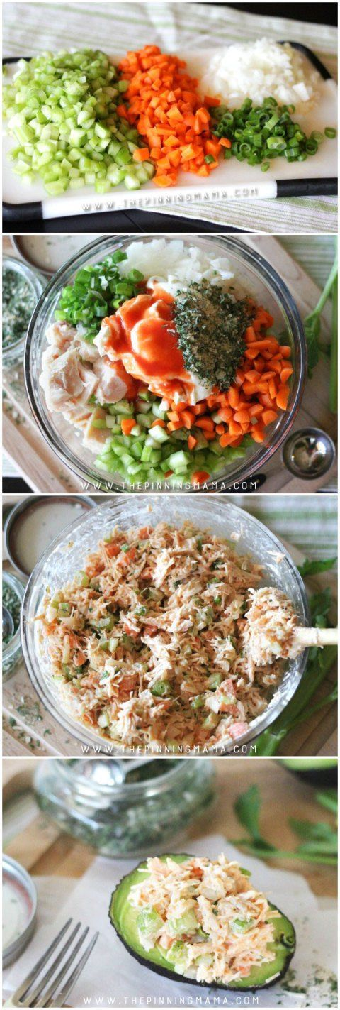 Step by Step how to make Easy Buffalo Ranch Chicken Salad. This easy recipe is so delicious! It is packed with flavors and you can make it as spicy as you want. As a bonus, it is Paleo, Whole30 Compli