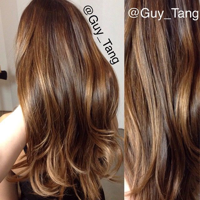 #balayage highlights Toner Formula is #redken #shadeseq  09rb 09n equal parts on damp hair for 20mins