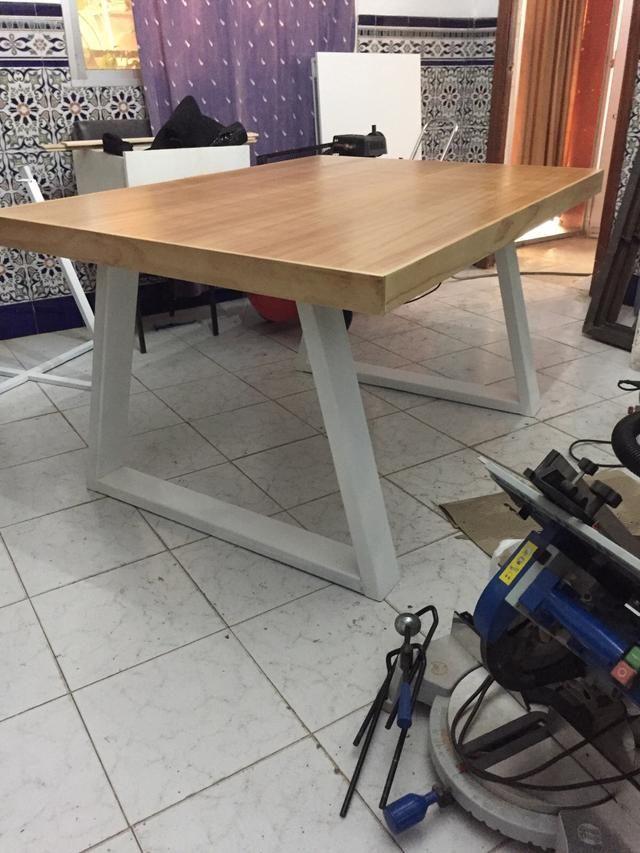 Mesa estilo industrial de segunda mano por 250 € en Madrid ...