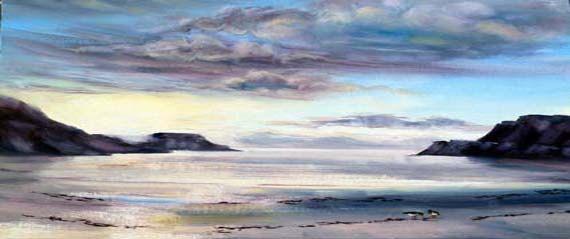 Calgary sunset printCalgary beach Isle of by PaintingsGallery