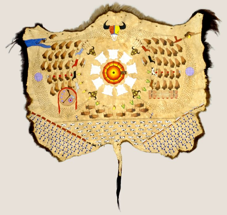 FNMI - INTERACTIVE - What Story Does the painted buffalo hide Tell | Tracking the Buffalo