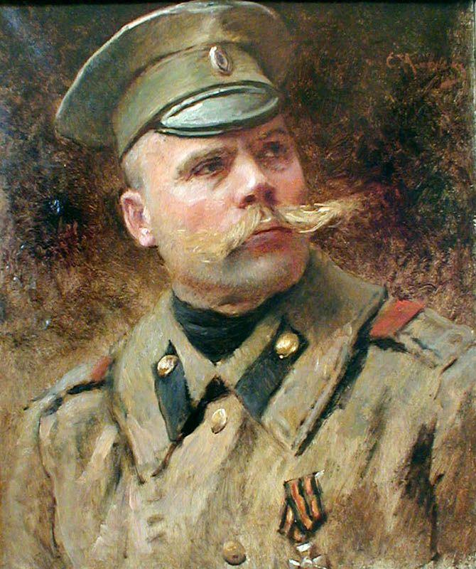 МАКОВСКИЙ Константин Егорович (1839-1915) «Унтер»