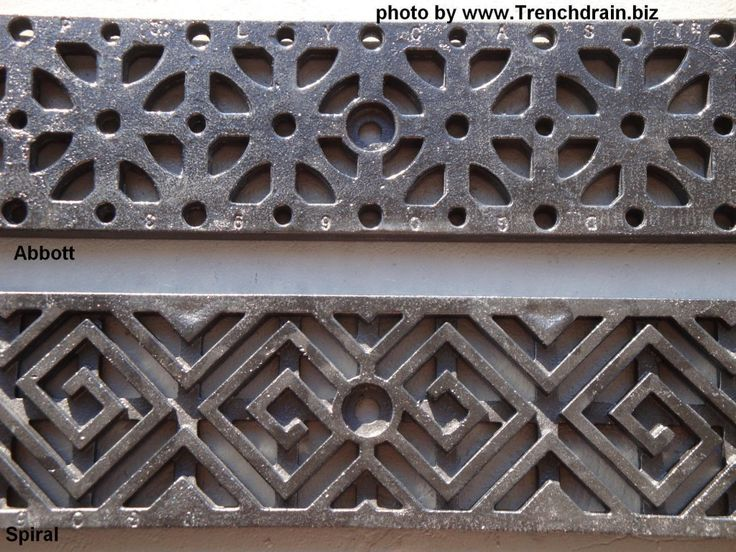 Decorative Yard Drainage : Best ideas about trench drain on pinterest french
