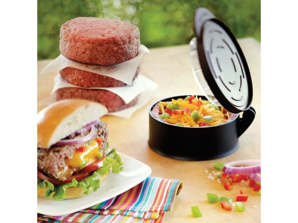 Outset Burger Stuffer - Sometimes a regular burger is just not enough. This tool…