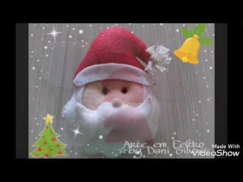 #4 Passo a Passo - Papai Noel em Feltro!