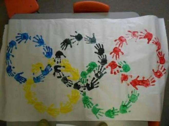 Pintar o símbolo dos Jogos Olímpicos                                                                                                                                                                                 Mais