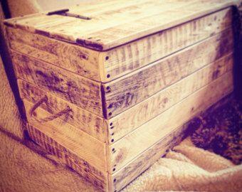 Hölzerne Decke box