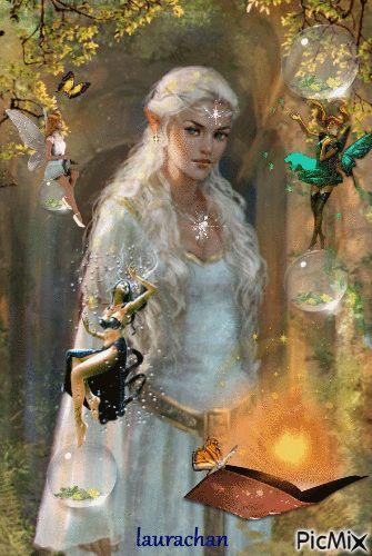 Elf and fairies