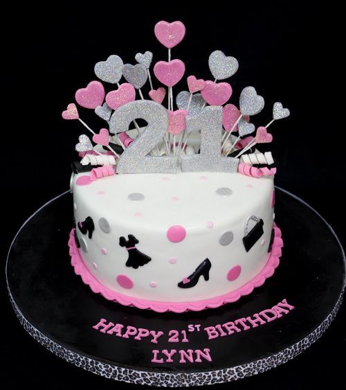 21st birthday cakes for girls 21st Birthday Cake Ideas