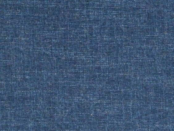 Kuta Navy Fabric by Tru Living - A plain weave textured fabric in navy blue.