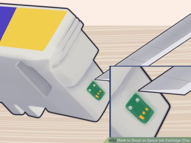 How to Reset an Epson Ink Cartridge Chip