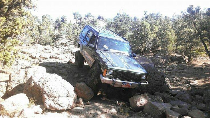 Flexing in the boulder field